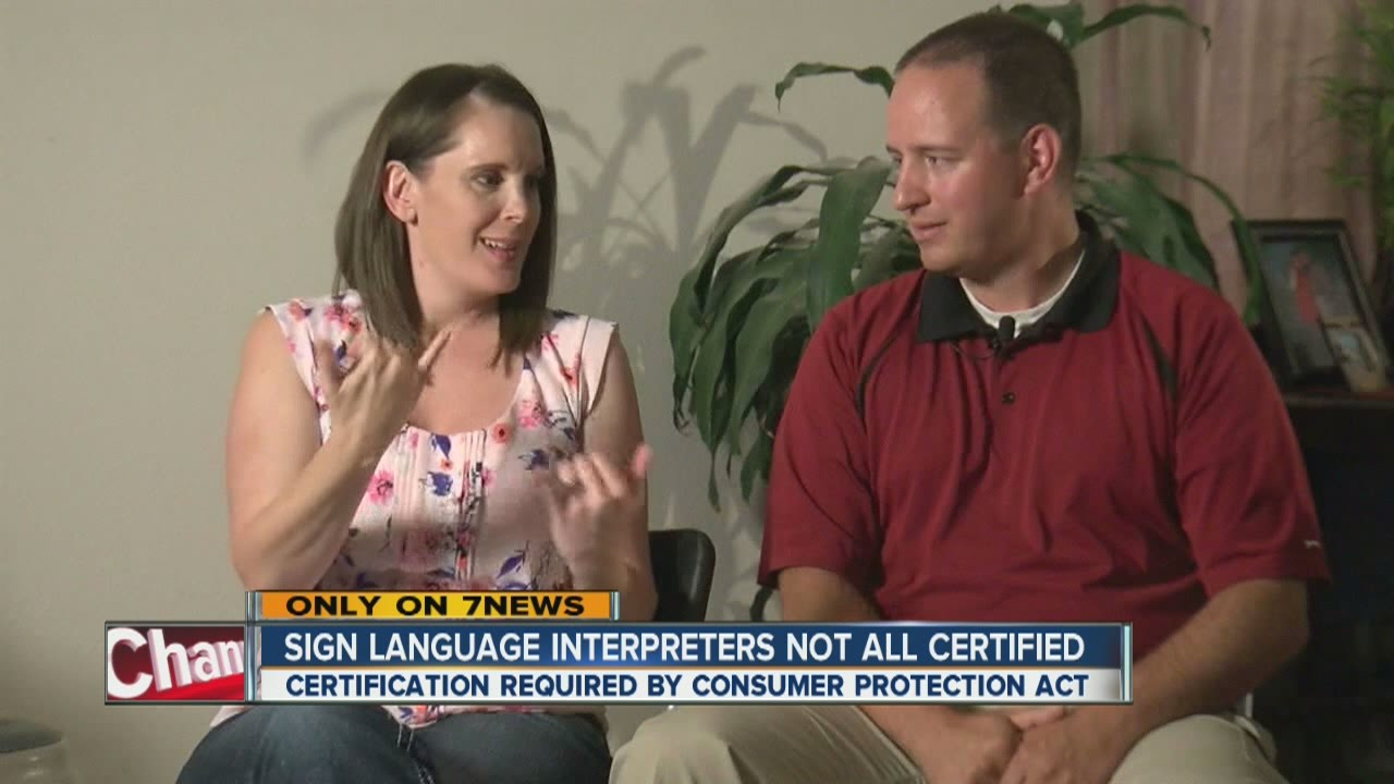 Sign Language Interpreters Not All Certified Youtube