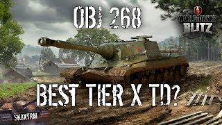OBJ 268 Best Tier X TD Wot Blitz
