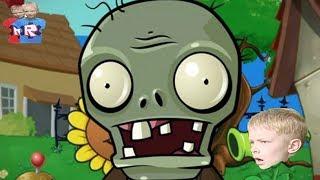Игра про Зомби Растения против Зомби Plants VS Zombies Игры Для Детей. брос шоу геймс7+