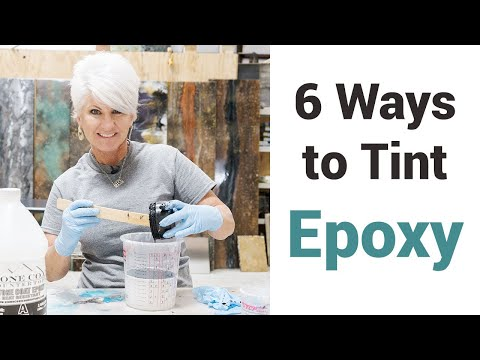 How to Tint Stone Coat Countertop Epoxy