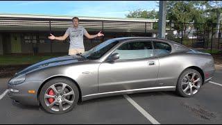 The Maserati Coupe Is a Sub-$20,000 Exotic Car Bargain