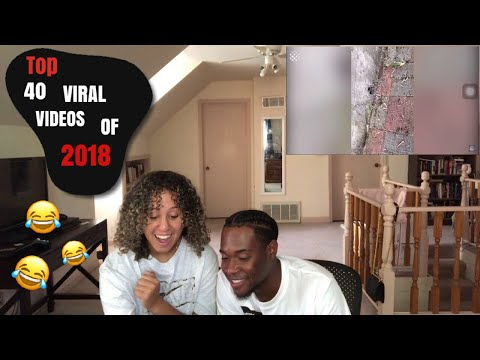 Top 40 Viral Videos Of The Year 2018 (REACTION)