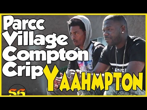In the Wilmington Arms Apartments in Parc Village Crips neighborhood in Compton (Yaahmpton)