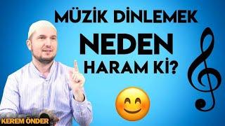 Müzik dinlemek neden haram ki? 😊 / Kerem Önder