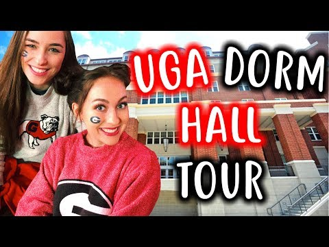 What it's REALLY like inside a UGA Dorm Hall! UGA Dorm Hall Tour
