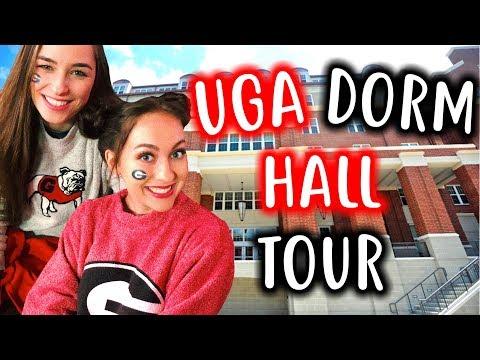 What it's REALLY like inside a UGA Dorm Hall! UGA Dorm Hall Tour