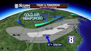 StormTrack 8 Morning Forecast March 4, 2015
