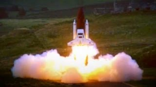 Top Gear : Robin Reliant Space Shuttle Challenge - Top Gear - BBC