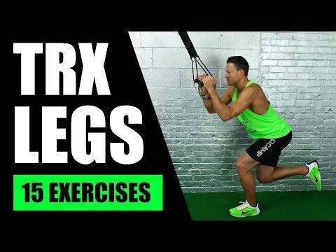 15 BEST TRX EXERCISES FOR LEGS | TRX Suspension Training Leg Exercises For Hamstrings, Butt, Thighs