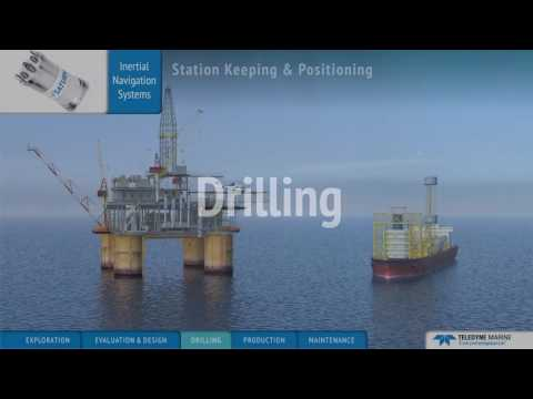 Offshore Oil and Gas Applications provided by Teledyne Marine