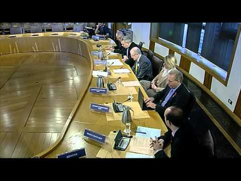 Equal Opportunities Committee - Scottish Parliament: 8th November 2012