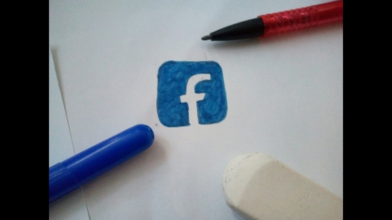 Comment dessiner le logo de facebook youtube - Comment dessiner spirit ...