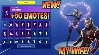 *NEW* OBLIVION (Omega's Female) With 50 FORTNITE DANCE EMOTES! (New Skin)