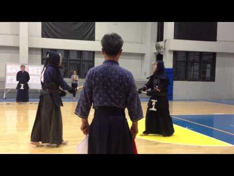 Emerson vs Inoue Shu  (Godo Keiko Shiai) 08252014