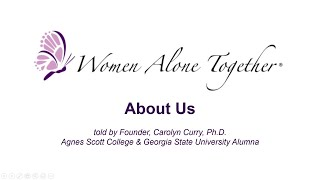 Women Alone Together - About Us