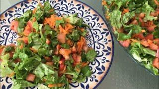 Быстрый завтрак для похудения. Правильное питание Легкий салат ПП рецепты. Simple salad in 3 minutes