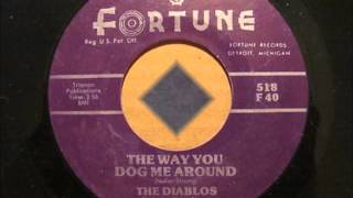 Nolan Strong And The Diablos - The Way You Dog Me Around  / Jump, Shake and Move -Fortune 518- 1955