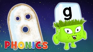 Phonics - Learn to Read   Ghostly Letters   Alphablocks