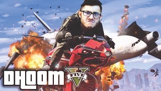 OPPRESSOR vs HELICOPTER FIGHT!! (EPIC CRASH) | GTA 5 ONLINE GAMEPLAY
