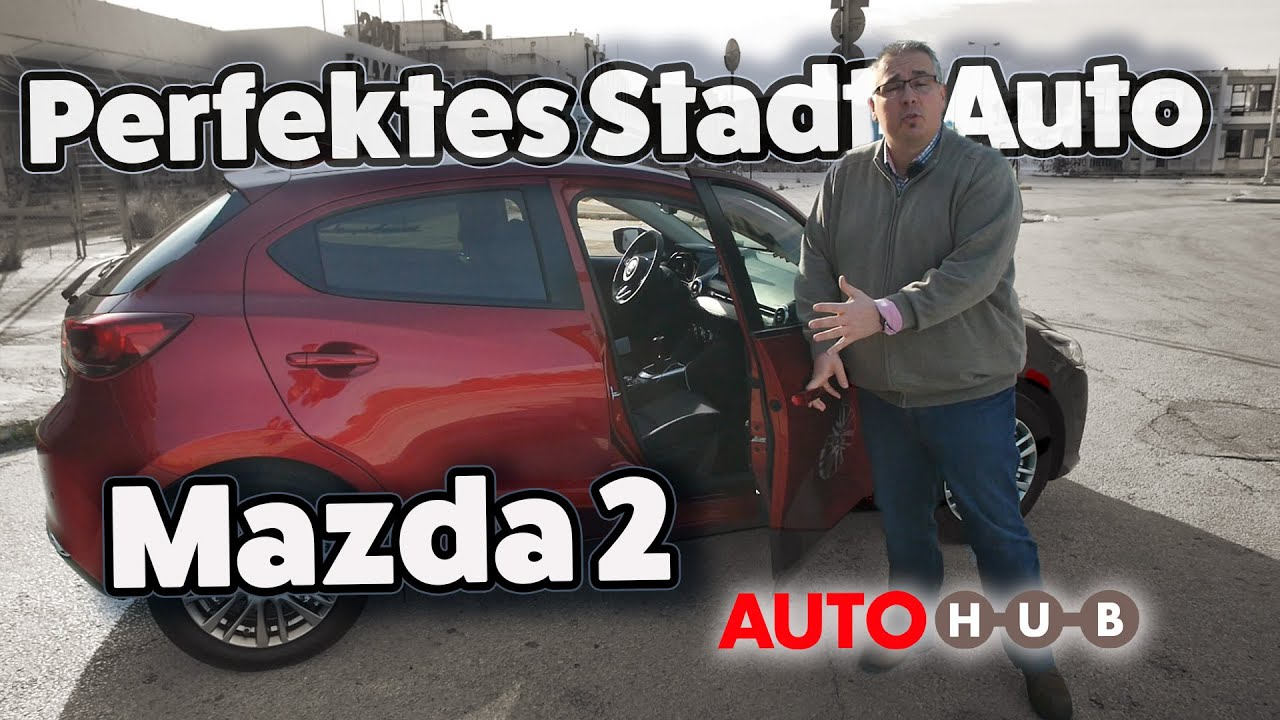 Perfektes Stadt-Auto? Der Mazda 2 im Test