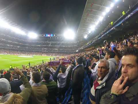 Hala madrid y nada mas ¡¡¡¡ Real Madrid 3 - PSG 1 - Santiago Bernabeu, Champions League