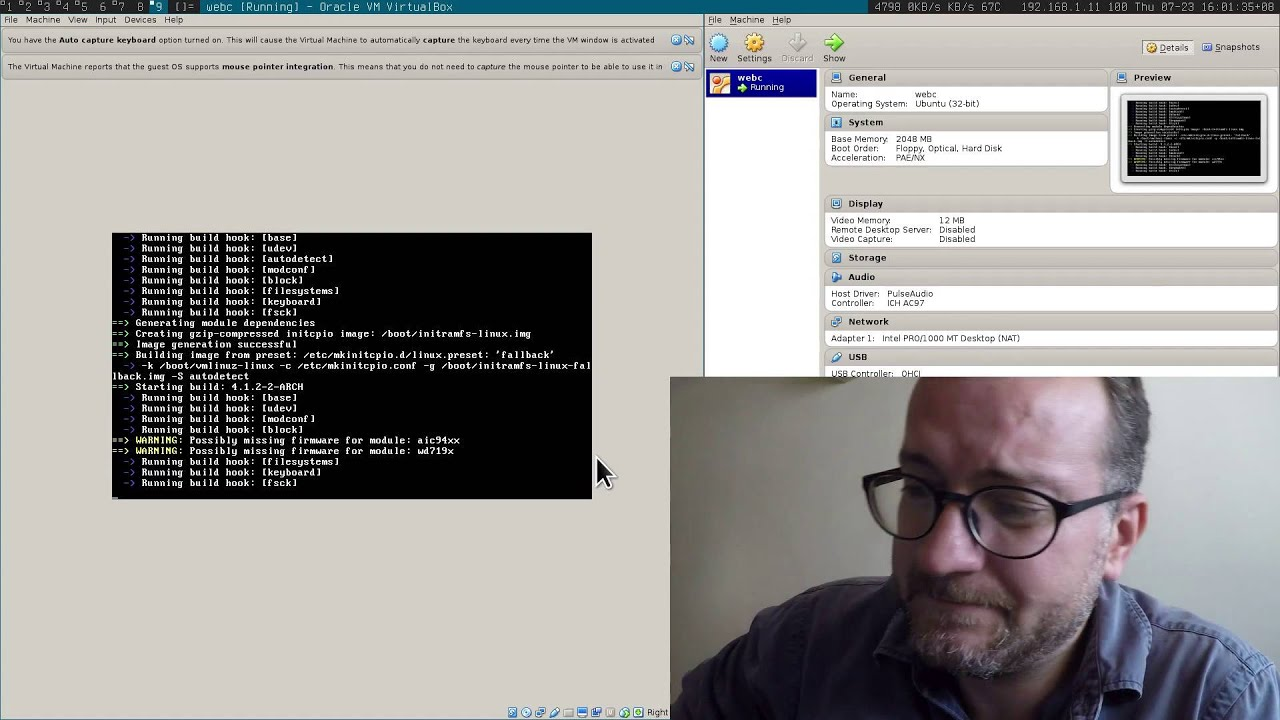 Step by step installation of Archlinux and dwm tiling window manager