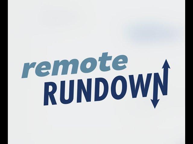 Remote Rundown: May 1, 2020