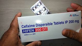 Hifen 200 DT review in Hindi Most Economical Cefixime Brand !