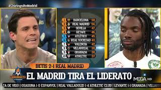 EDU AGUIRRE, INDIGNADO tras la derrota del MADRID ante el BETIS