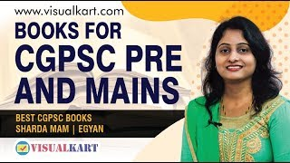 Books for Cgpsc pre and Mains | Best Cgpsc books | Sharda Mam | egyan