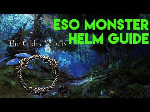 ESO Undaunted Monster Helm Guide