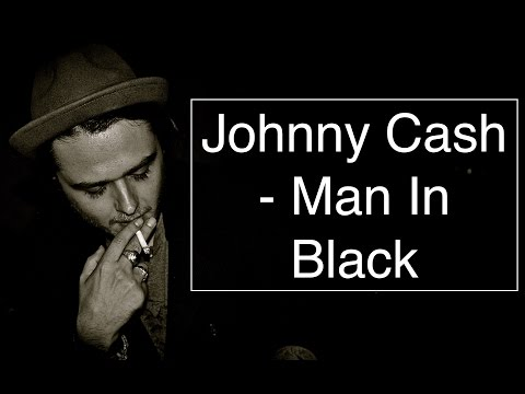 Johnny Cash - Man In Black [Guitar Tuto/Lesson/Cover With CHORDS]