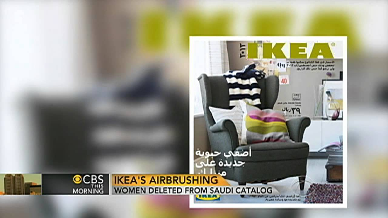 Women Deleted From Ikea Catalog In Saudi Arabia