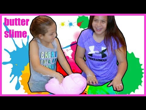 BIGGEST BUTTER SLIME TUTORIAL WITH ELMER GLUE AND MODEL MAGIC