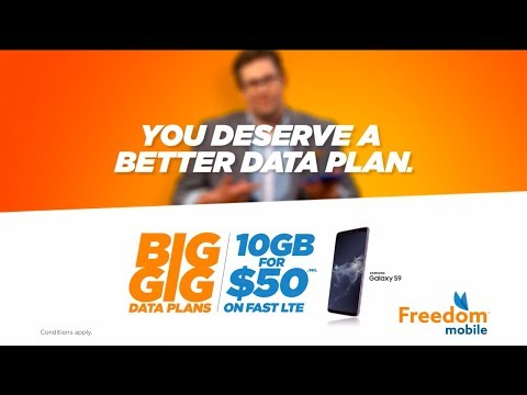 You Deserve A Better Data Plan | Freedom Mobile