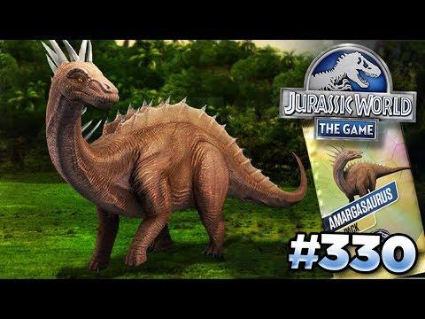 AMARGASAURUS TOURNAMENT!! || Jurassic World - The Game - Ep330 HD