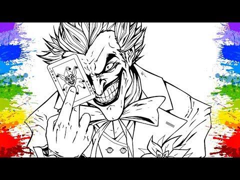 Coringa Desenho do Batman Cartoons ESQUADRÃO SUICIDA Desenhos animados em portugues