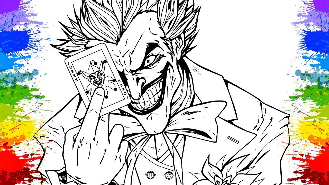 Coringa Desenho Do Batman Cartoons Esquadrao Suicida Desenhos