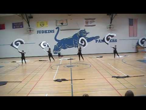 AGHS Color Guard at Judkins Middle School 2016
