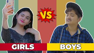 GIRLS VS BOYS || SIBBU GIRI
