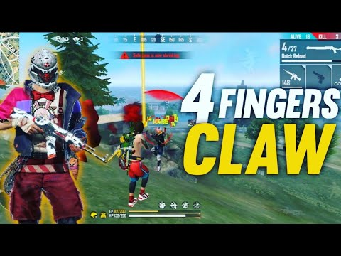 4 Fingers Claw in Free Fire!!🔥