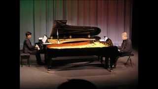 Antonín Dvořák: Symphony N°9, 1. Adagio.Allegro molto (original piano duet arr.)