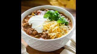 easy simple delish chili