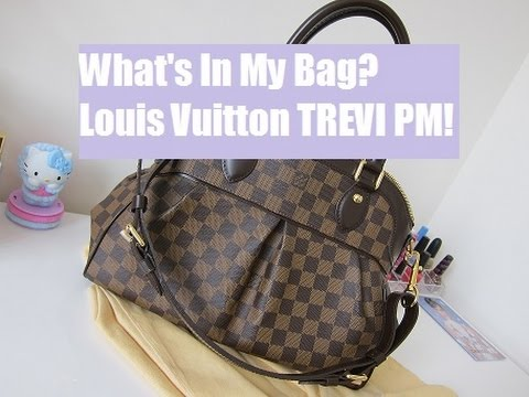 a94644b97a0 WHAT S IN MY BAG! LOUIS VUITTON TREVI Review!! - YouTube