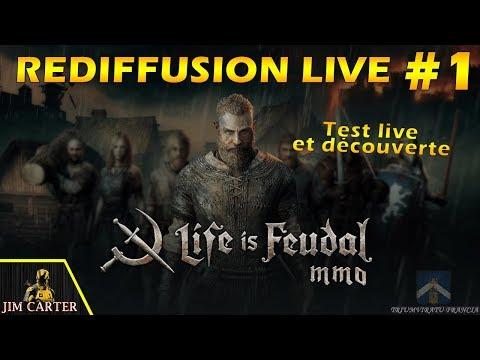 Live Test sur Life is Feudal !