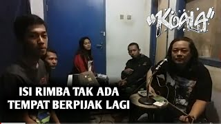 Download Video Isi Rimba Tak ada Tempat Berpijak Lagi MP3 3GP MP4