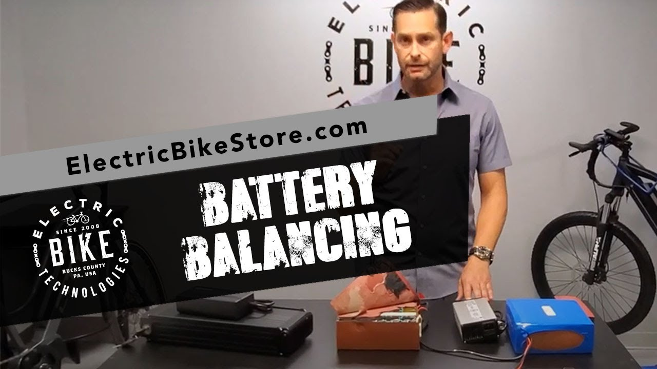 Electric Bike Technologies | Why Battery Balancing is Important
