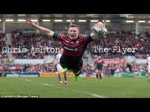 Chris Ashton- The Flyer- Best Tries, Steps and Skills ||HD||