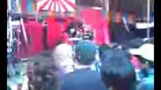 2008札幌まつりでのヘビ女こと小雪太夫.