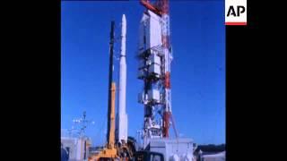 Thorad-SLV2G Agena-D Start mit SERT II (1970)